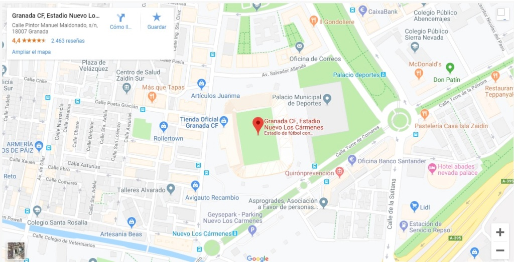 [J40] Granada C.F. - Cádiz C.F. - Domingo 26/05/2019 19:00 h. #GranadaCádiz Situac20