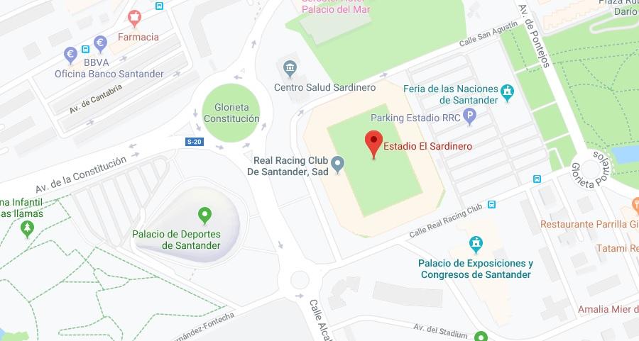 [J04] R. Racing Club - Cádiz C.F. - Viernes 06/09/2019 21:00 h. #RacingCádiz Situac22