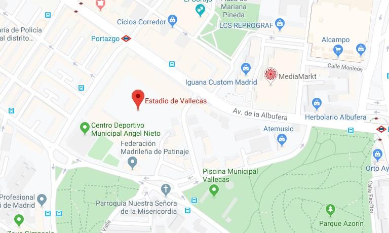 [J15] Rayo Vallecano C.F. - Cádiz C.F. - Domingo 10/11/2019 21:00 h. #RayoCádiz Situac27