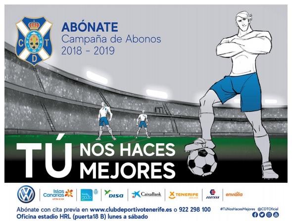 [J07] C.D. Tenerife - Cádiz C.F. - Sábado 29/09/2018 20:30 h. Slogan10
