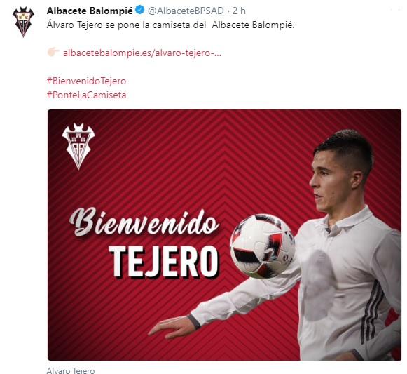 Altas y Bajas confirmadas Liga 1.2.3 Temporada 2018-2019 Tejero10