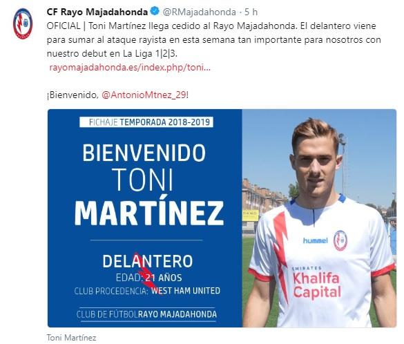 Altas y Bajas confirmadas Liga 1.2.3 Temporada 2018-2019 - Página 2 Toni_m10