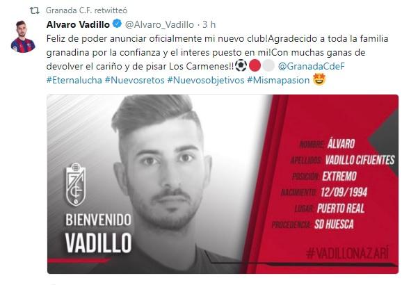 Altas y Bajas confirmadas Liga 1.2.3 Temporada 2018-2019 Vadill10