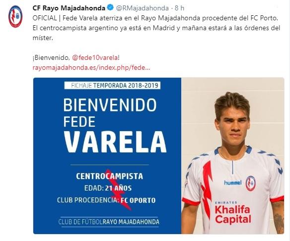 Altas y Bajas confirmadas Liga 1.2.3 Temporada 2018-2019 - Página 2 Varela10