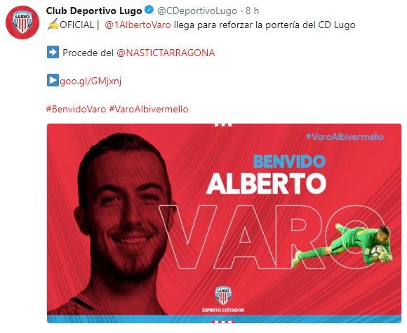 Altas y Bajas confirmadas Liga 1.2.3 Temporada 2018-2019 Varo10