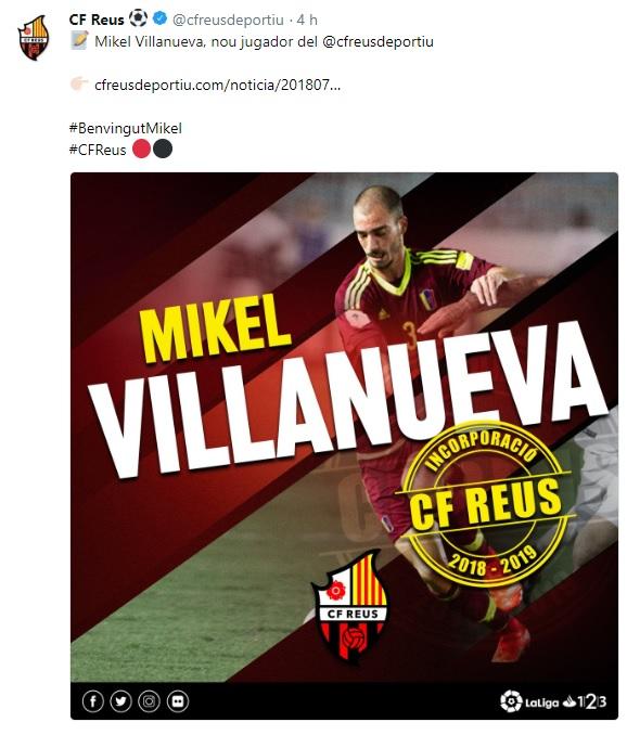 Altas y Bajas confirmadas Liga 1.2.3 Temporada 2018-2019 - Página 2 Villan10