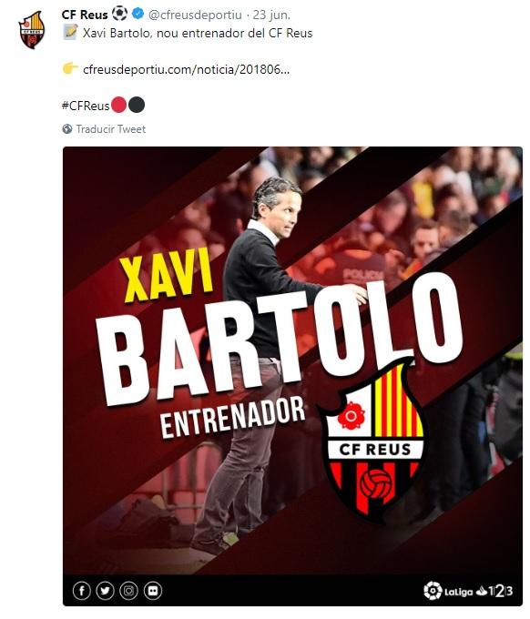 Altas y Bajas confirmadas Liga 1.2.3 Temporada 2018-2019 Xavi_b10
