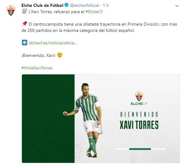 Altas y Bajas confirmadas Liga 1.2.3 Temporada 2018-2019 - Página 2 Xavi_t10