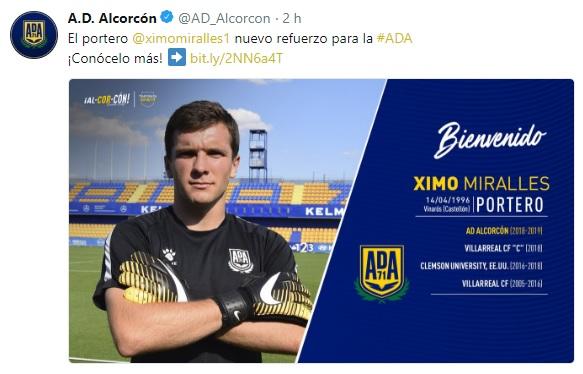 Altas y Bajas confirmadas Liga 1.2.3 Temporada 2018-2019 Ximo_m10