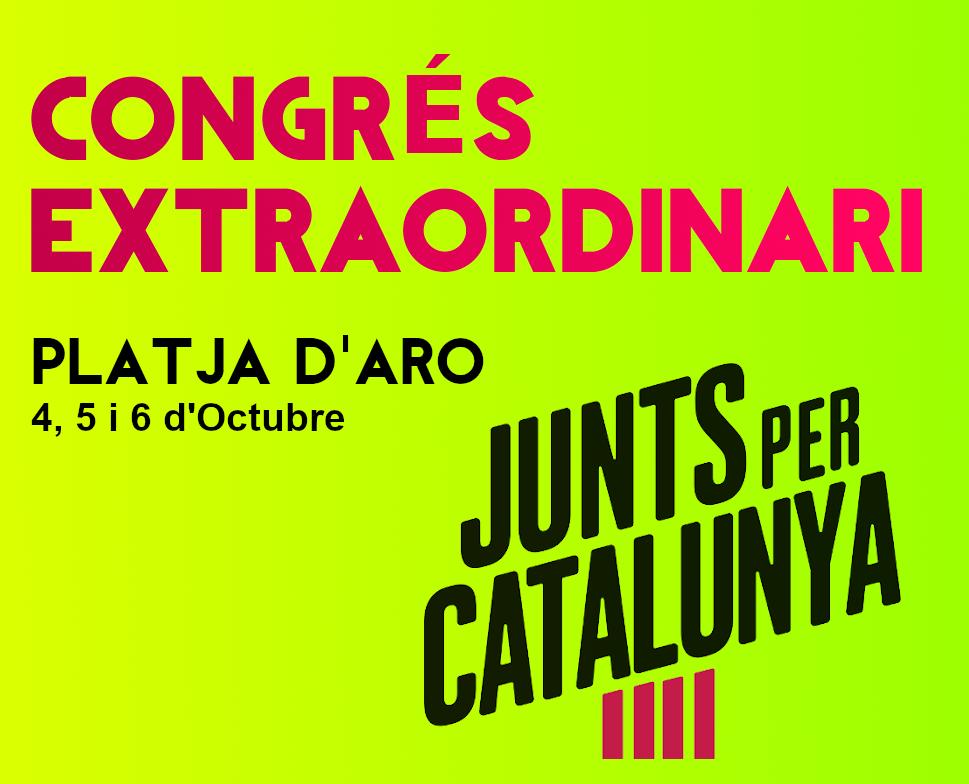 Junts per Catalunya   Campanya primàries JxCat 2019 ''CONGRÉS EXTRAORDINARI'' Congrz10