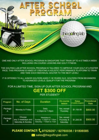 Golfing Lab -After School Program 49895210