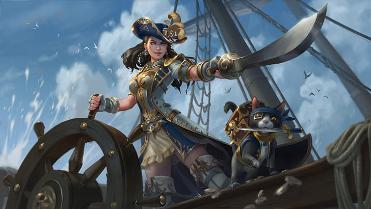 Piratas! Temporada 1 Imagem11