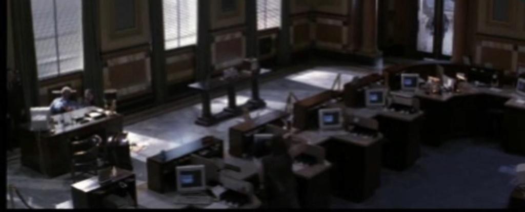 Un propset de interior de banco Banco_10