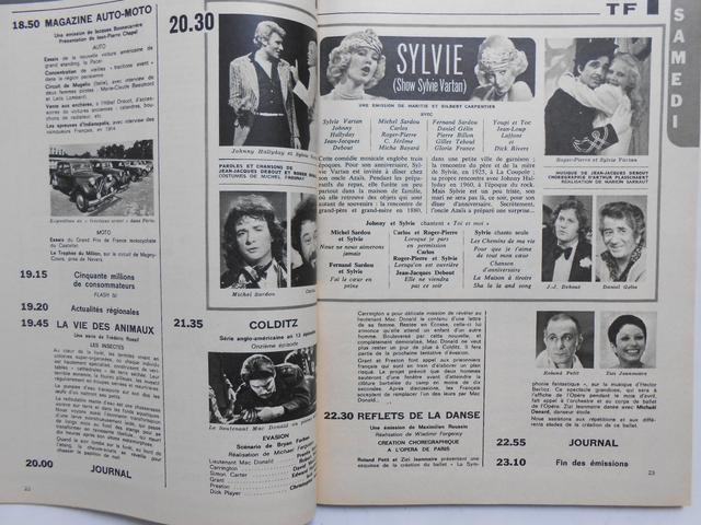 Télé Poche n°476 du 20 mars 1975 1975_010