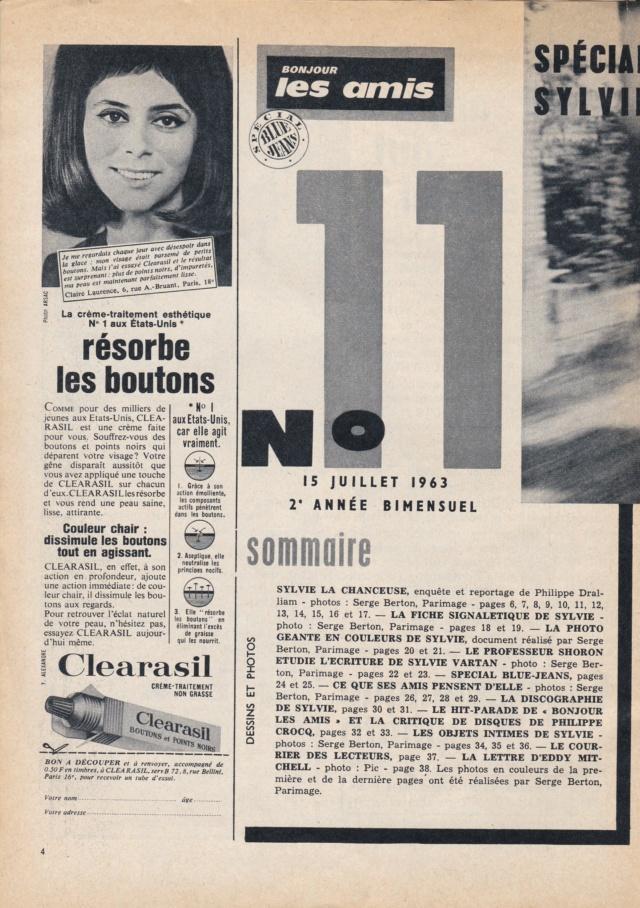 Bonjour Les Amis n°11 de Juillet 1963 Bla11_11