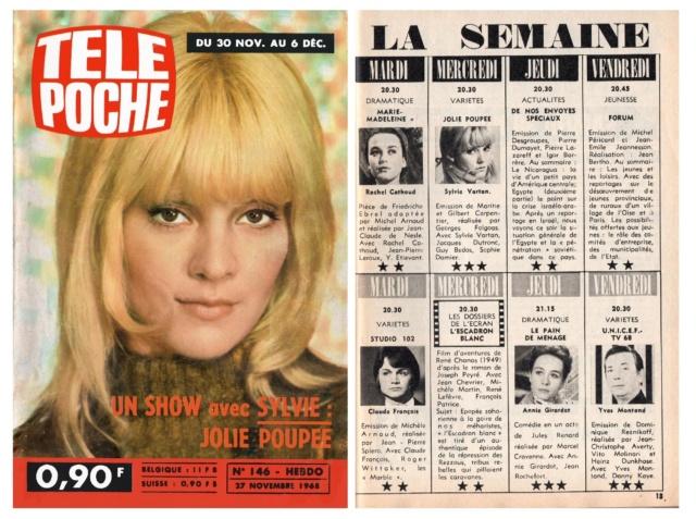 Télé Poche n° 146 du 27 novembre 1968 - Page 2 Tp_19616