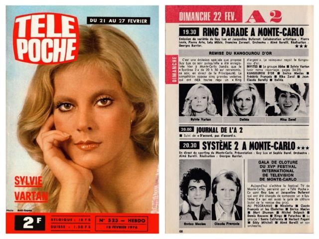 Télé Poche n° 523 du 18 février 1976 Tp_19741