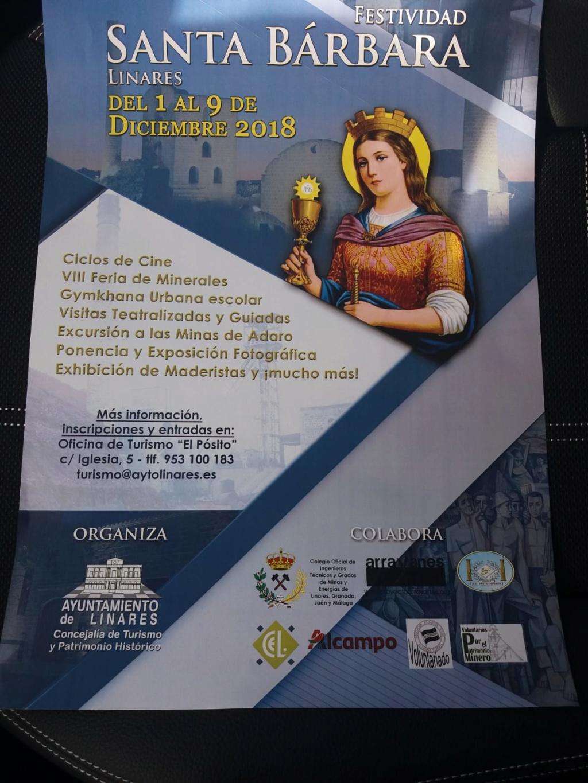 Mesa de Linares Santa Barbara  diciembre ,2018 Cartel10
