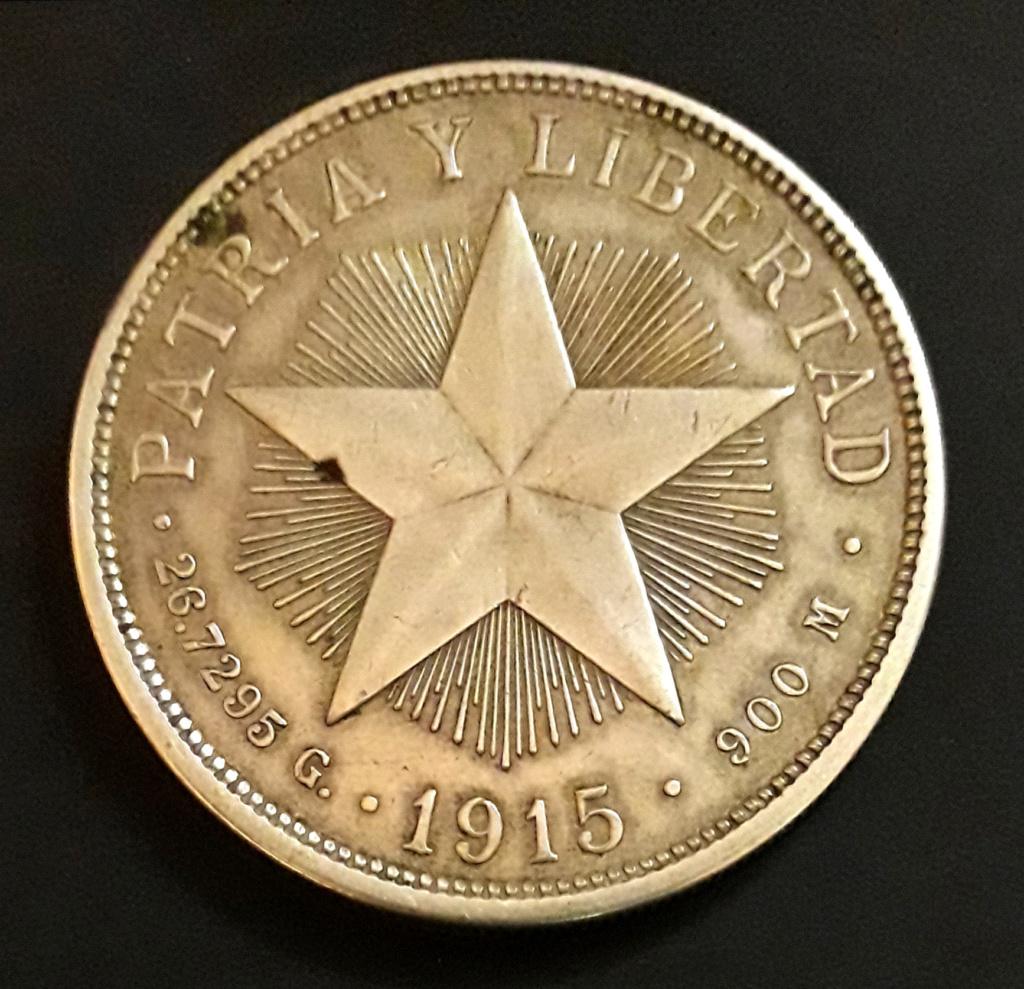 Cuba 1 Peso 1915 1915_111