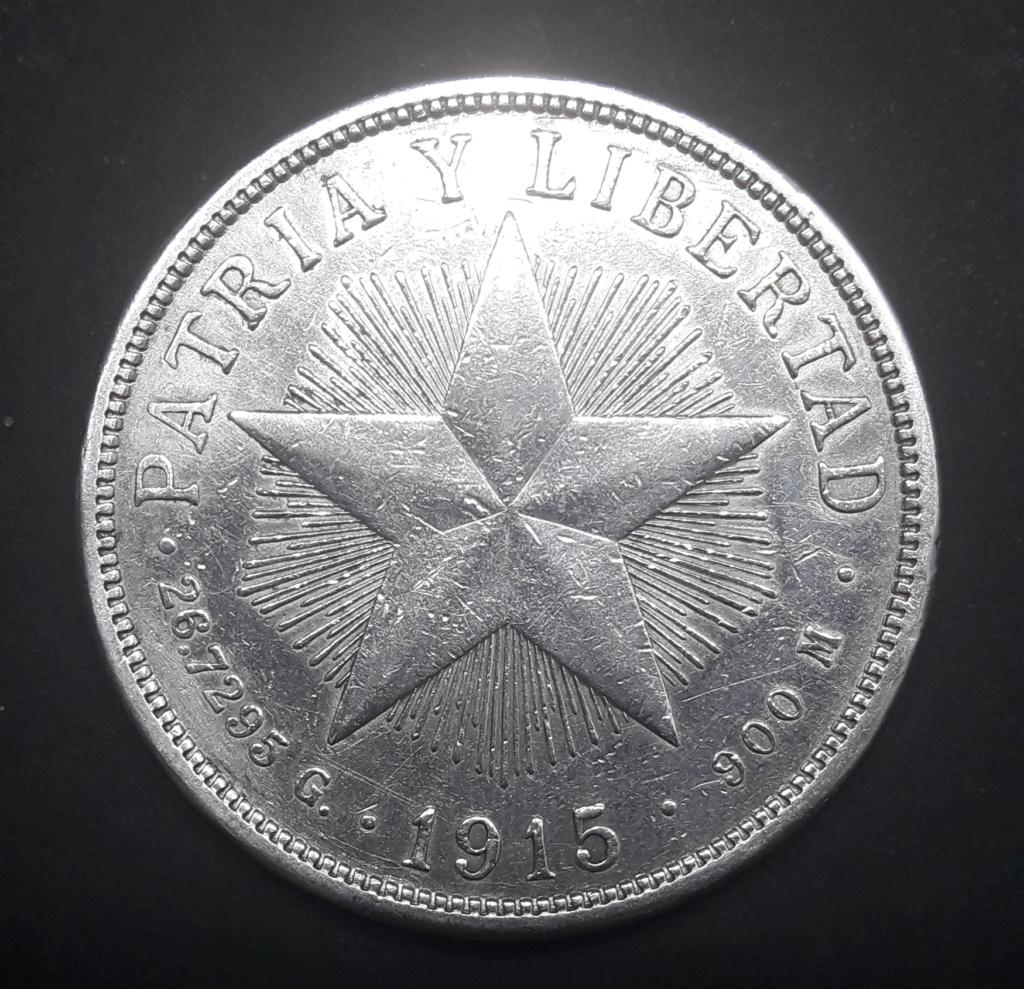 Cuba 1 peso 1915 Low Relief 1915_113