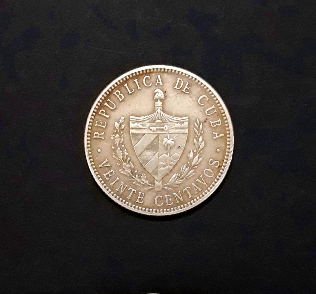 Cuba 20 Centavos 1915 1915_211