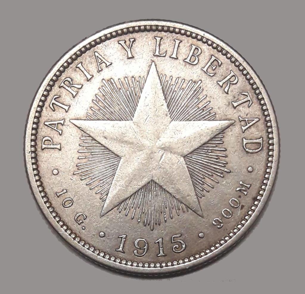 Cuba 40 Centavos 1915 1915_410