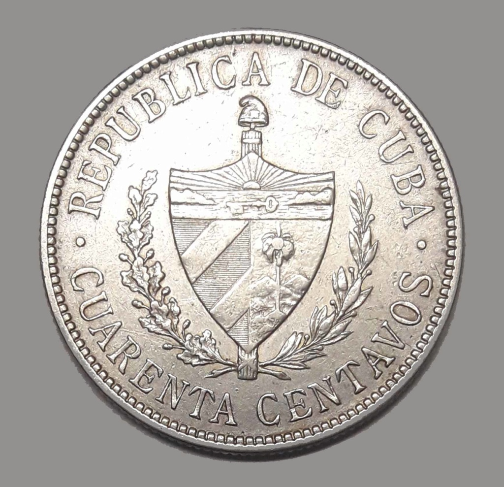 Cuba 40 Centavos 1915 1915_411
