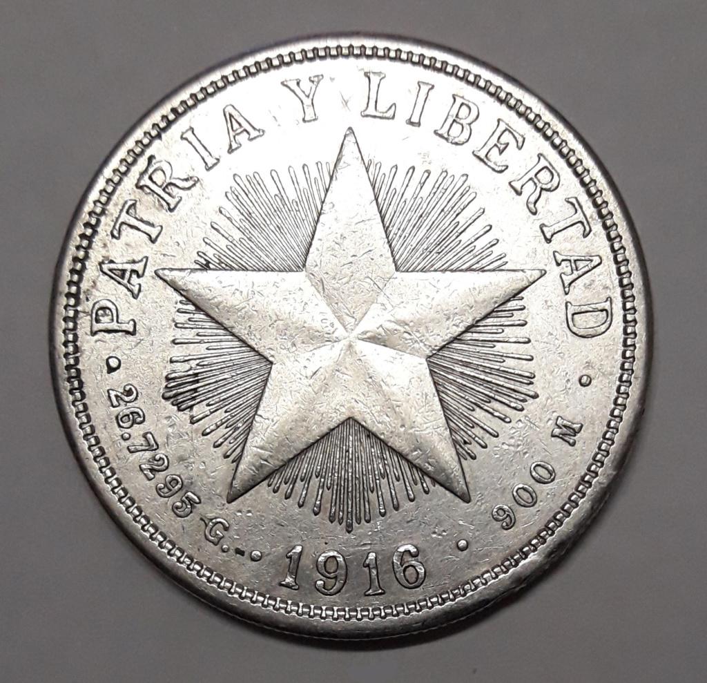 Cuba 1 peso 1916 1916_110