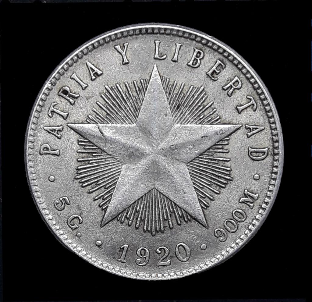 CUBA 20 CENTAVOS 1920 1920_210