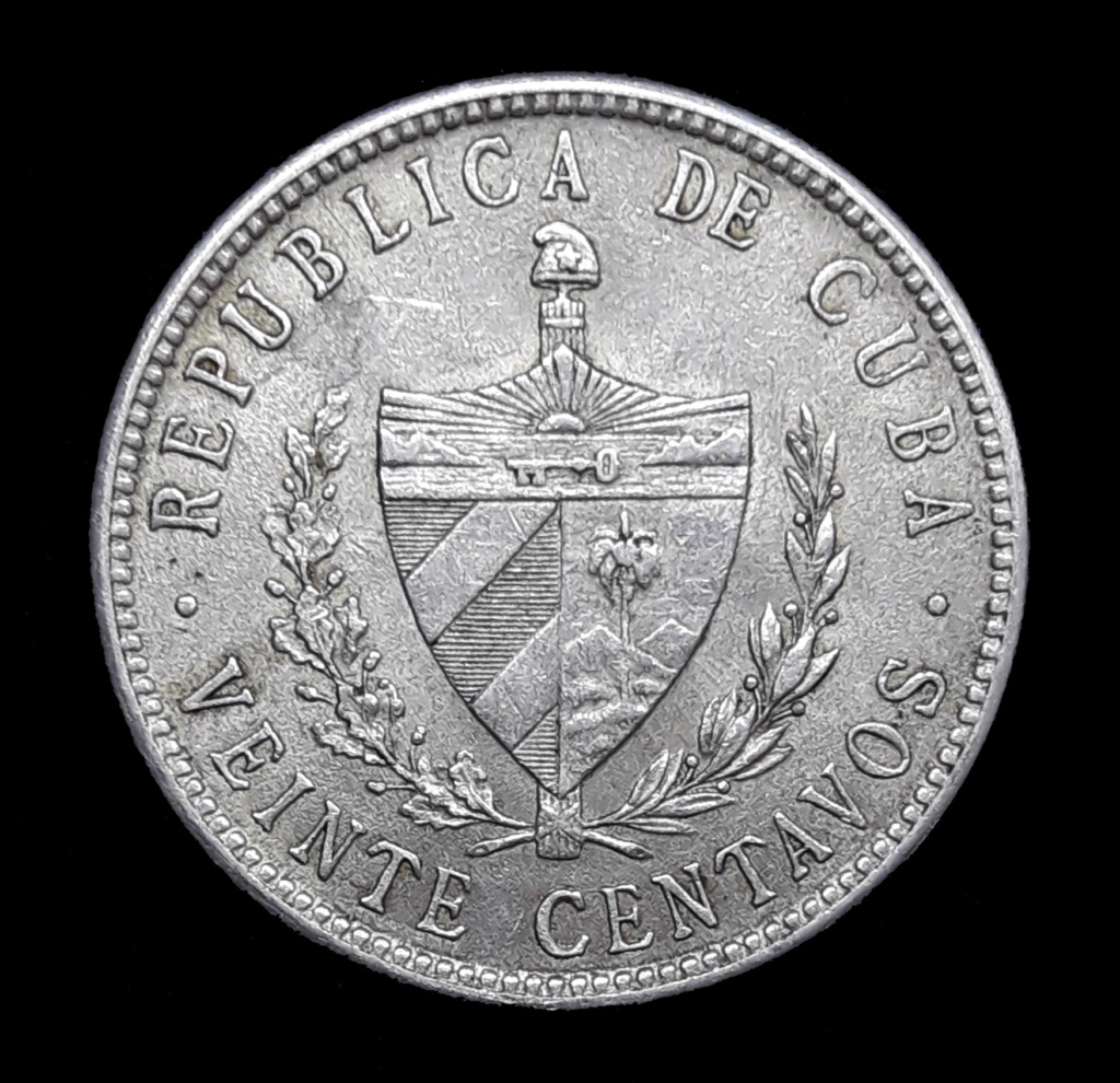 CUBA 20 CENTAVOS 1920 1920_211