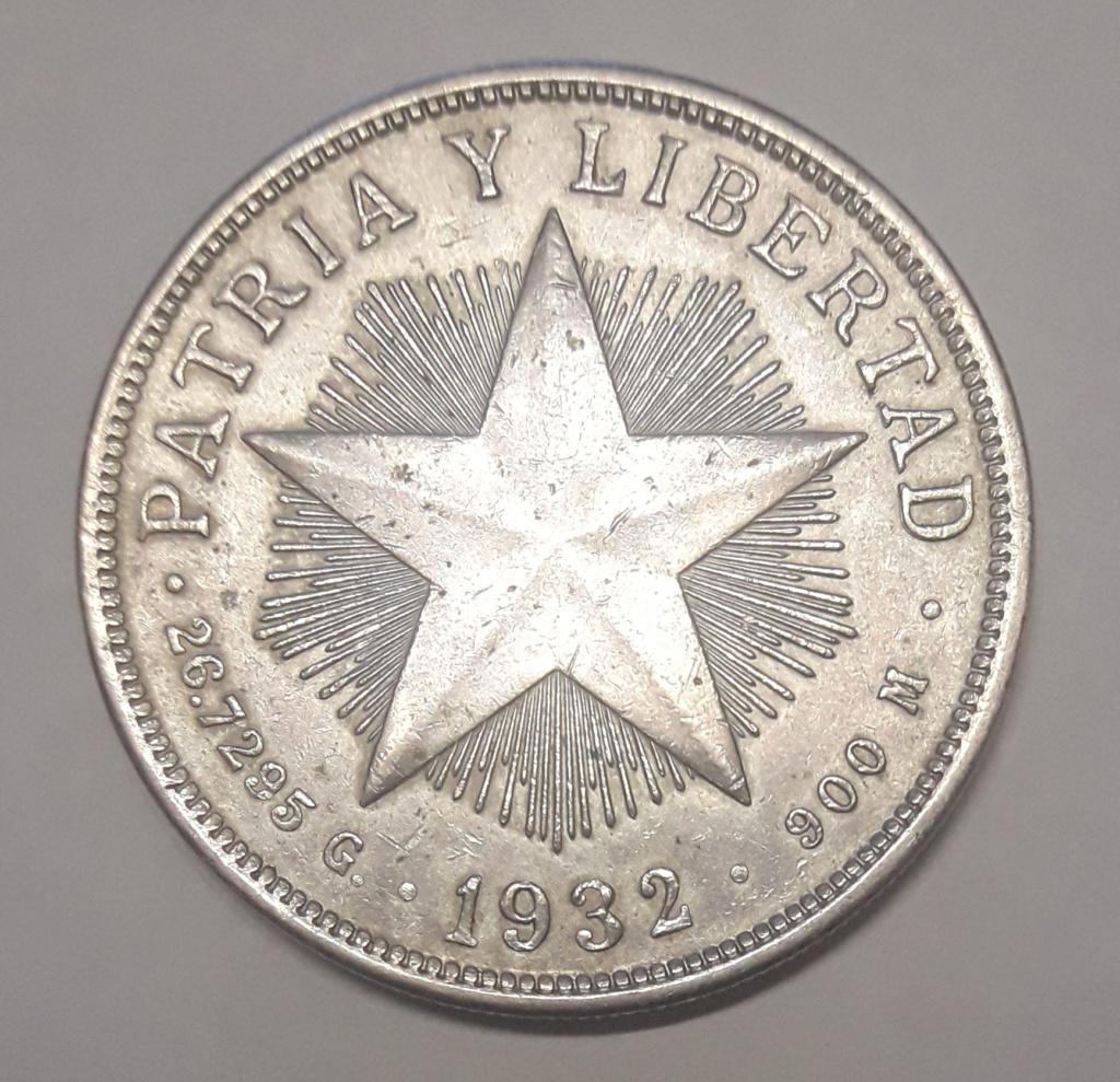Cuba 1 peso 1932 1932_110