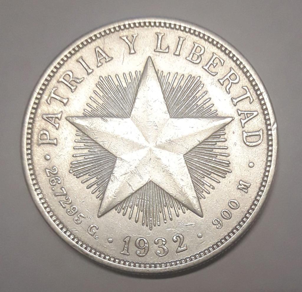 Cuba 1 peso 1932 1932_112