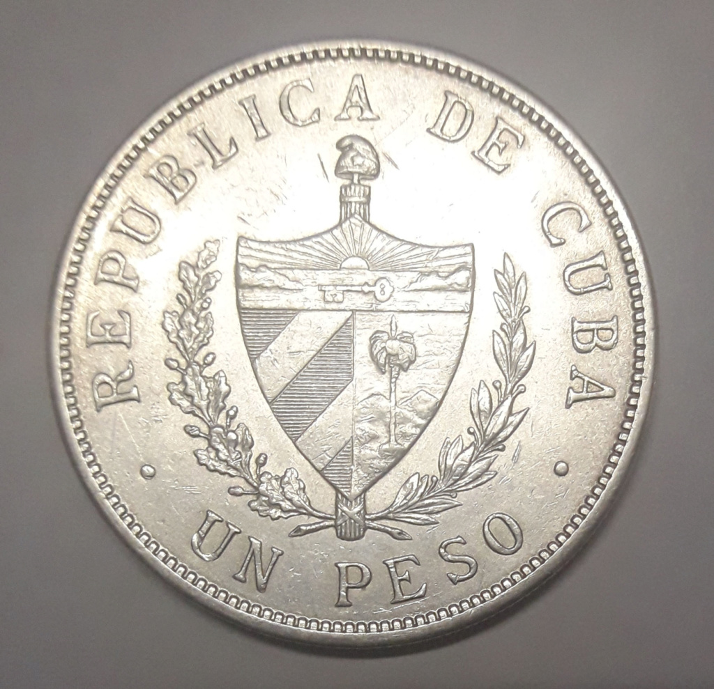 Cuba 1 peso 1932 1932_113
