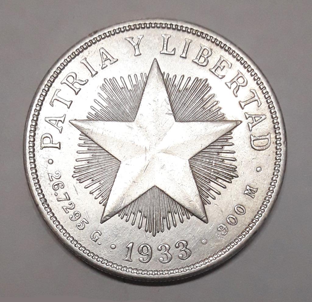 Cuba 1 peso 1933 1933_114