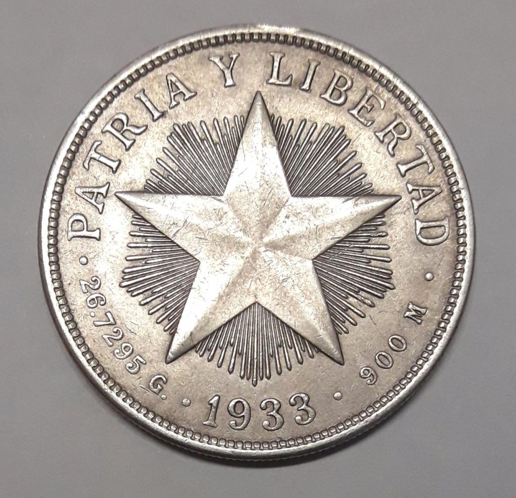 Cuba 1 peso 1933 1933_116