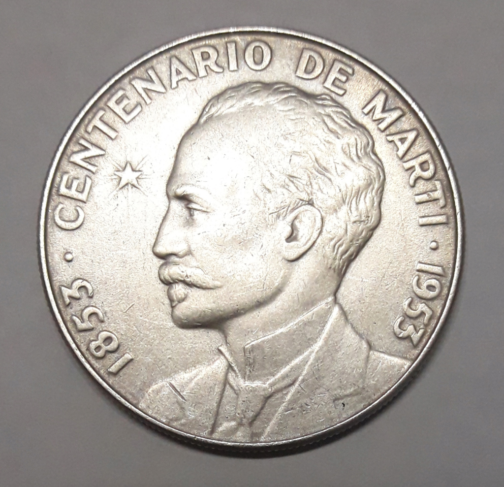 Cuba 1 Peso 1953 1953_110