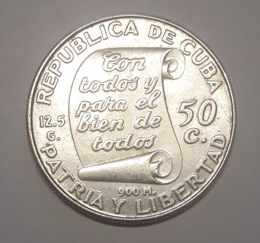 Cuba 50 Centavos 1953 1953_511