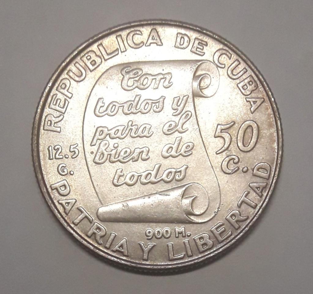 Cuba 50 Centavos 1953 1953_513