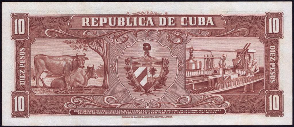 Cuba 10 Pesos 1960 Remplazo 1960_112
