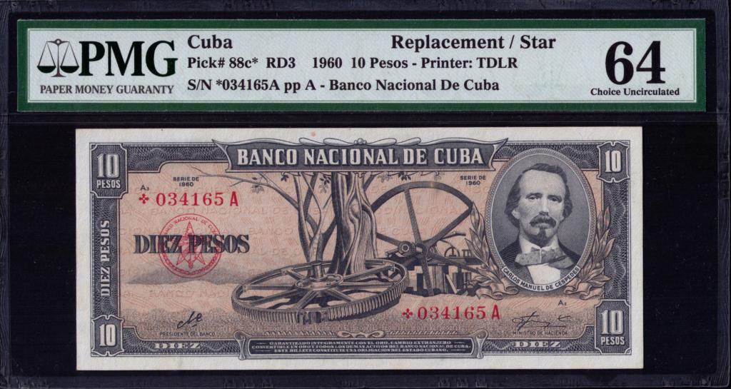 Cuba 10 Pesos 1960 Remplazo 1960_113