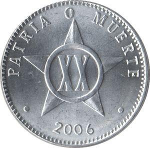 20 Centavos (sin fecha). República de Cuba. 20-cen10