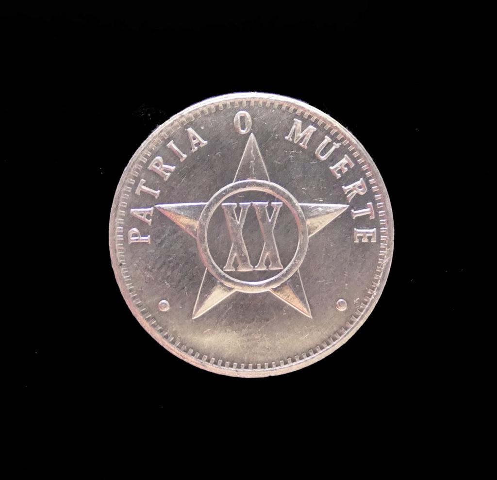 20 Centavos (sin fecha). República de Cuba. 20_cen10