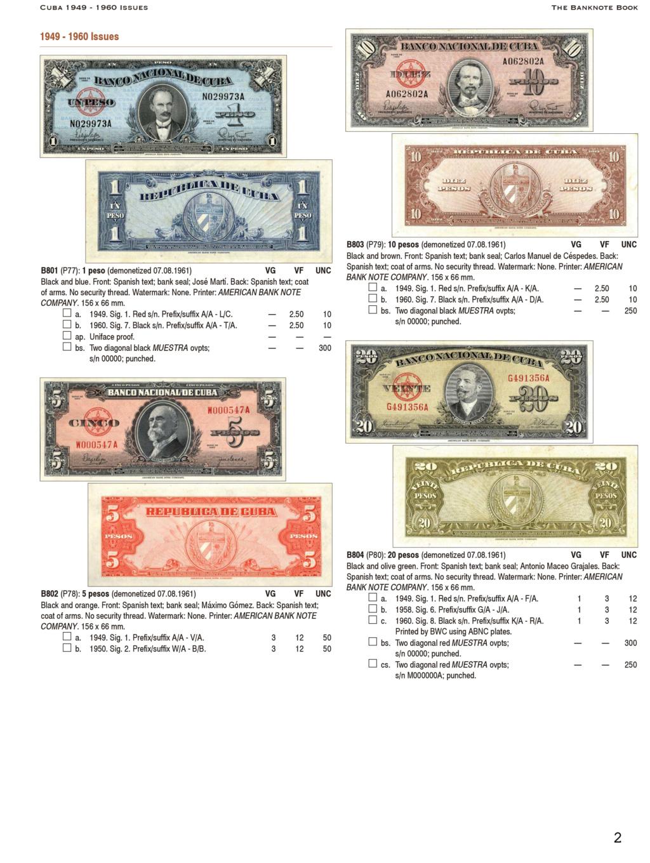 Catálogos The Banknote book - ¿Alguién los conoce? Bankno11