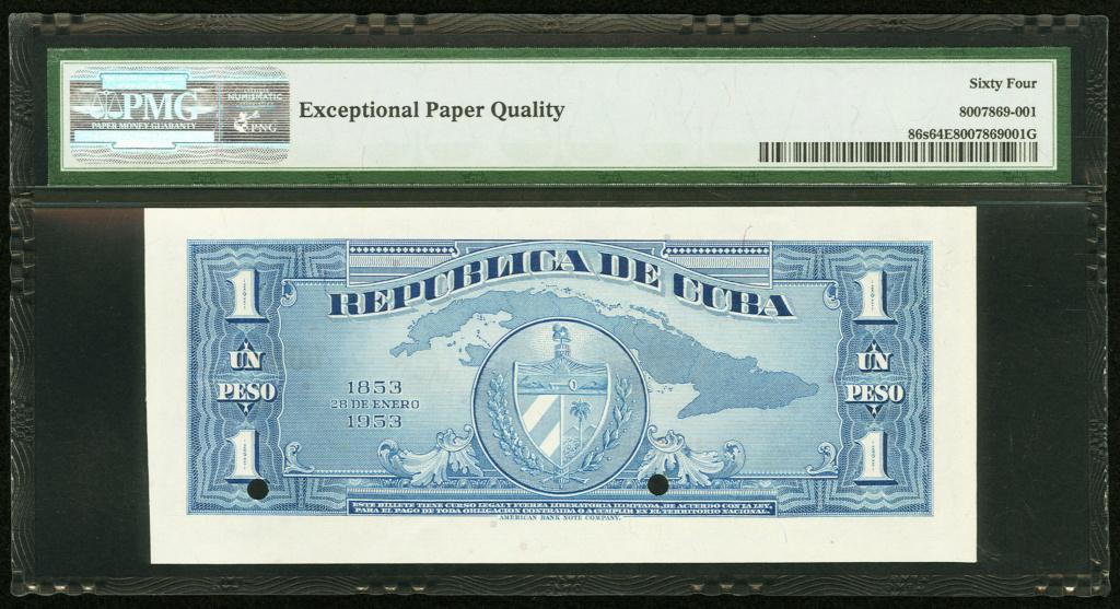 Cuba 1 Peso 1953 Conmemorativo. Dedicatoria JRBCN Cuba_129
