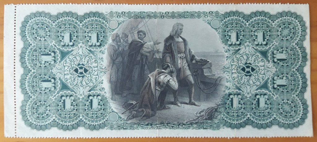 Banco Español de La Habana 1 peso 1883 Cuba_133