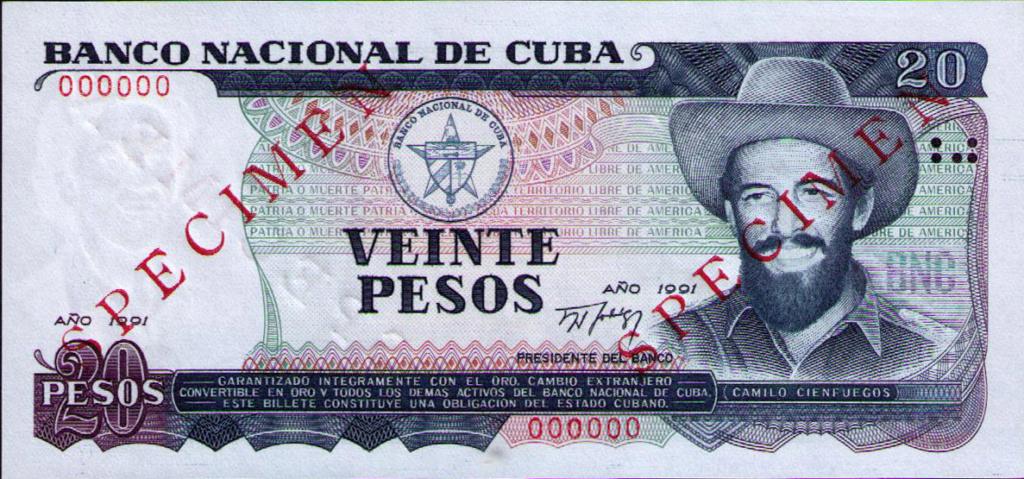 Cuba los billetes impresos en China Cuba_142