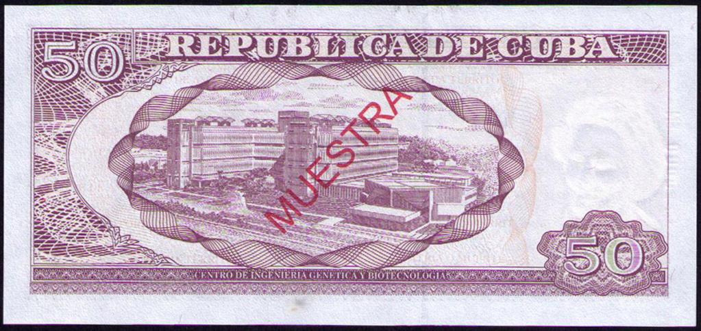 Cuba 50 Pesos Muestra Cuba_211