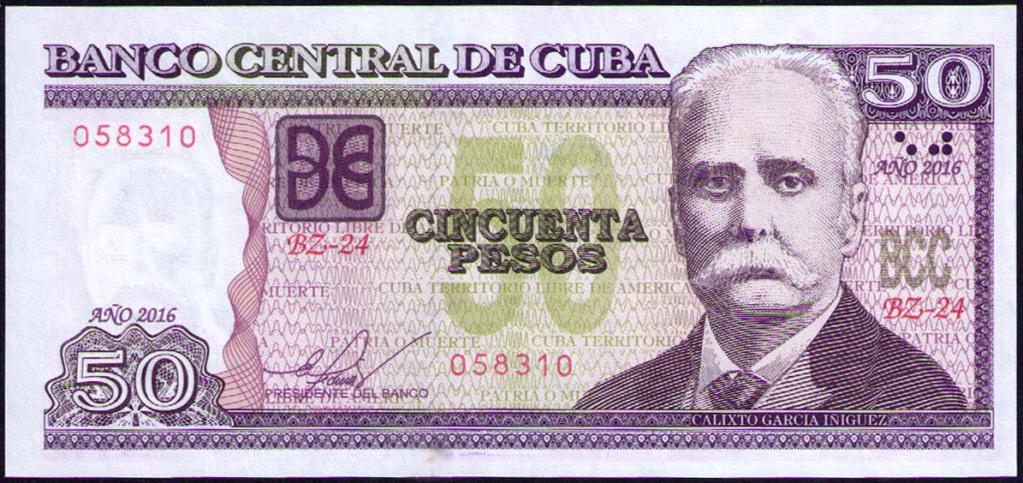 Cuba 50 pesos falta de impresión. Cuba_213
