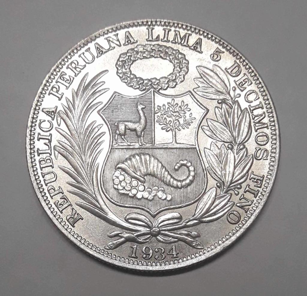 Peru 1 Sol 1934 Peru_112