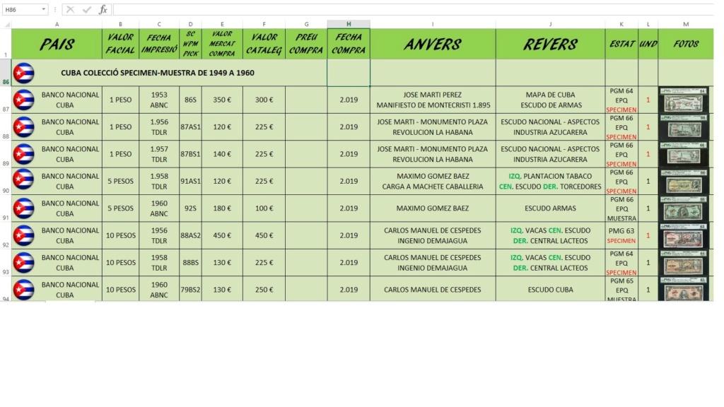 Programa para Billetes Xls11